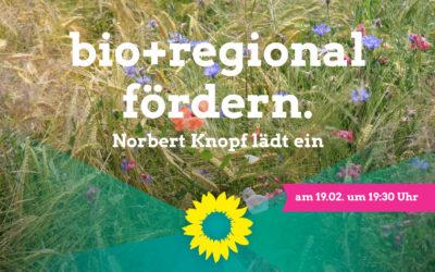 Markt für regionale Bioprodukte stärken