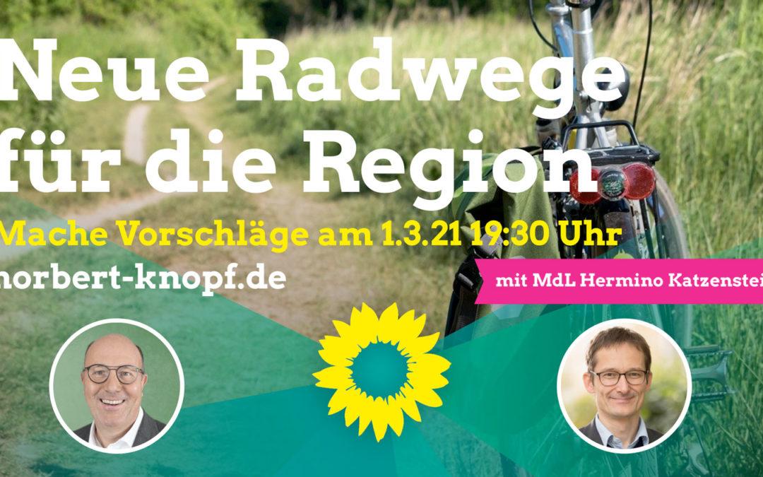 Neue Radwege für die Region