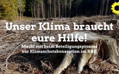 Bürgerbeteiligung zum Klimaschutzkonzept des Kreises jetzt online!