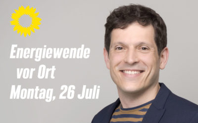 Energiewende vor Ort – Podiumsdiskussion mit Bundestagskandidat Jürgen Kretz